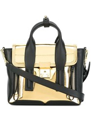 3.1 Phillip Lim Mini 'Pashli' Satchel Metallic