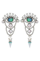 Lionette By Noa Sade Women's 'Aqua Perspectives' Jewel Drop Earrings
