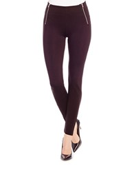 Jessica Simpson Heathered Ponte Knit Leggings Black