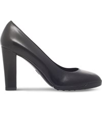 Tod's Feminile 95 Leather Courts Black
