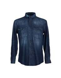 Htc Denim Shirts Blue