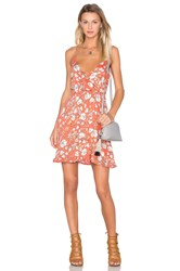 Minkpink Mini Dress Orange