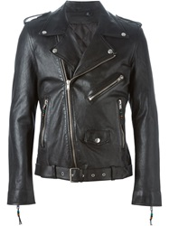 Blk Dnm Biker Jacket Black