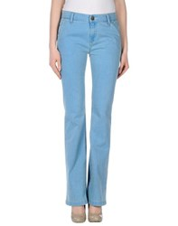 Shine Denim Denim Trousers Women