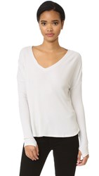 Feel The Piece Robin Long Sleeve Tee Ivory