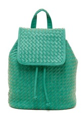 Urban Expressions Hadley Woven Backpack Green