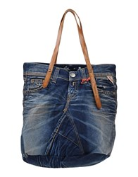 Replay Bags Handbags Women Blue