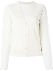 Toga Pulla Layered Cardigan White