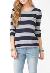 Forever 21 Rugby Stripe Sweater