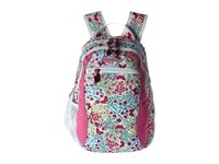 High Sierra Curve Backpack Summer Flight Pink Lemonade White Backpack Bags Gray