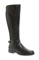 Naturalizer Women's 'Jelina' Riding Boot Black Leather