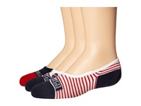 Sperry Fish Canoe Liner Navy Women's Crew Cut Socks Shoes