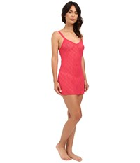 B.Tempt'd Lace Kiss Chemise Raspberry Women's Pajama Pink