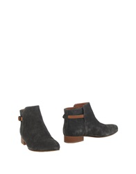 Sessun Ankle Boots Dark Green