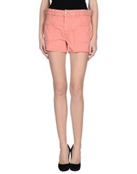 Isabel Marant Denim Shorts Salmon Pink
