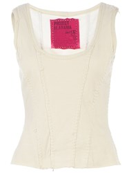 Projet Alabama Scoop Neck Tank Top White