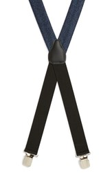 Alexander Olch Men's 'Gable' Herringbone Suspenders