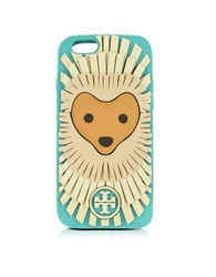 Tory Burch Lola The Lion Silicon Iphone 6 Cover Light Blue