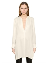 Helmut Lang Stretch Silk Tunic