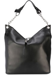Jimmy Choo 'Raven' Tote Black