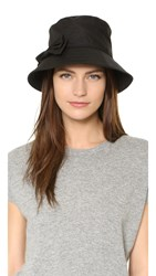 Kate Spade Multi Month Rain Bucket Hat Black