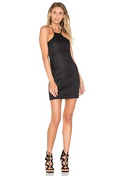Blq Basiq Mesh Mini Dress Black