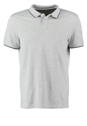 Kiomi Polo Shirt Light Grey Melange