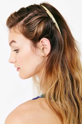 Urban Outfitters Illusion Hair Comb Barrette Gold