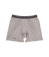 Outdoor Research Echo Boxer Briefs Pewter Charcoal Men's Underwear Gray