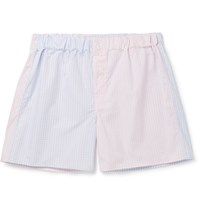 Emma Willis Willi Patchwork Cotton Boxer Hort Pink