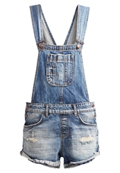 Ltb Lorella Dungarees Rune Wash Destroyed Denim