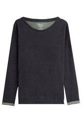 Majestic Cotton Sweatshirt With Cashmere Gr. 2
