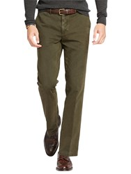 Ralph Lauren Polo Hudson Straight Fit Trousers Hunter Olive