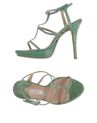 Mauro Grifoni Footwear Sandals Women Light Green