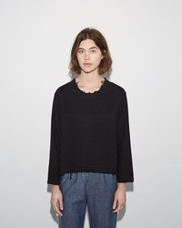 Black Crane Wide Top Black