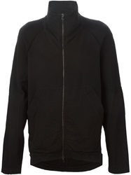 Lost And Found Rooms Funnel Neck Jacket Black