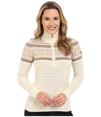 Fjall Raven Vika Sweater Ecru Women's Sweater Khaki