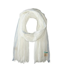 Scotch And Soda Chic Cotton Voile Scarf White Scarves