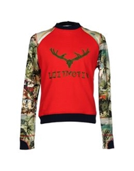 Leitmotiv Sweatshirts Red