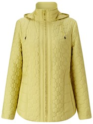 Four Seasons Quilted Jacket Citrus