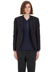 Thom Browne Classic Single Breasted Blazer Jacket Navy