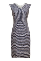 Almost Famous Stripy Dress Navy