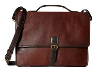 Scully Hidesign Robert Workbag With Padded Compartment Brown Bags