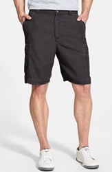Tommy Bahama Men's 'Key Grip' Relaxed Fit Cargo Shorts Coal