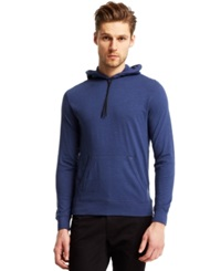 Kenneth Cole Reaction Textured T Shirt Hoodie Marlin