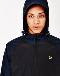 Lyle And Scott Anorak Black