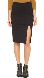 Cupcakes And Cashmere Montecito Pencil Skirt Black
