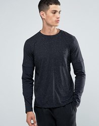 Another Influence Layered Long Sleeve T Shirt Black