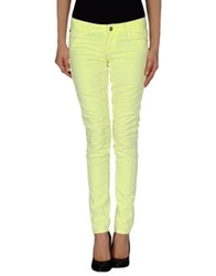 Miss Sixty Denim Pants Yellow