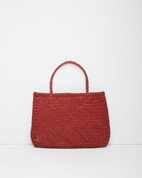 Dragon Optical Large Sophie Tote Red